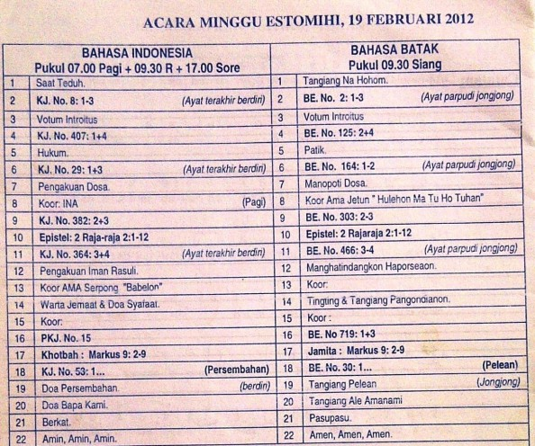 Acara 2012-02-19