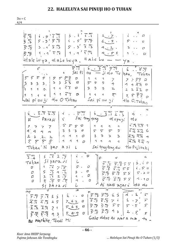 KAHS 22 Haleluya Sai Pinuji Ho O Tuhan_Page_1
