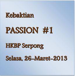 Passion #1