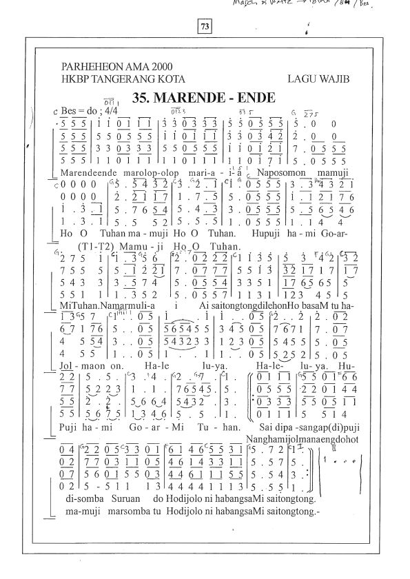 KATK 35 Marende-ende