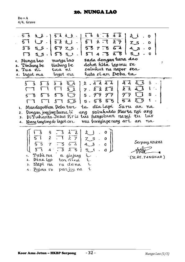 20 Nunga Lao (AJetun)